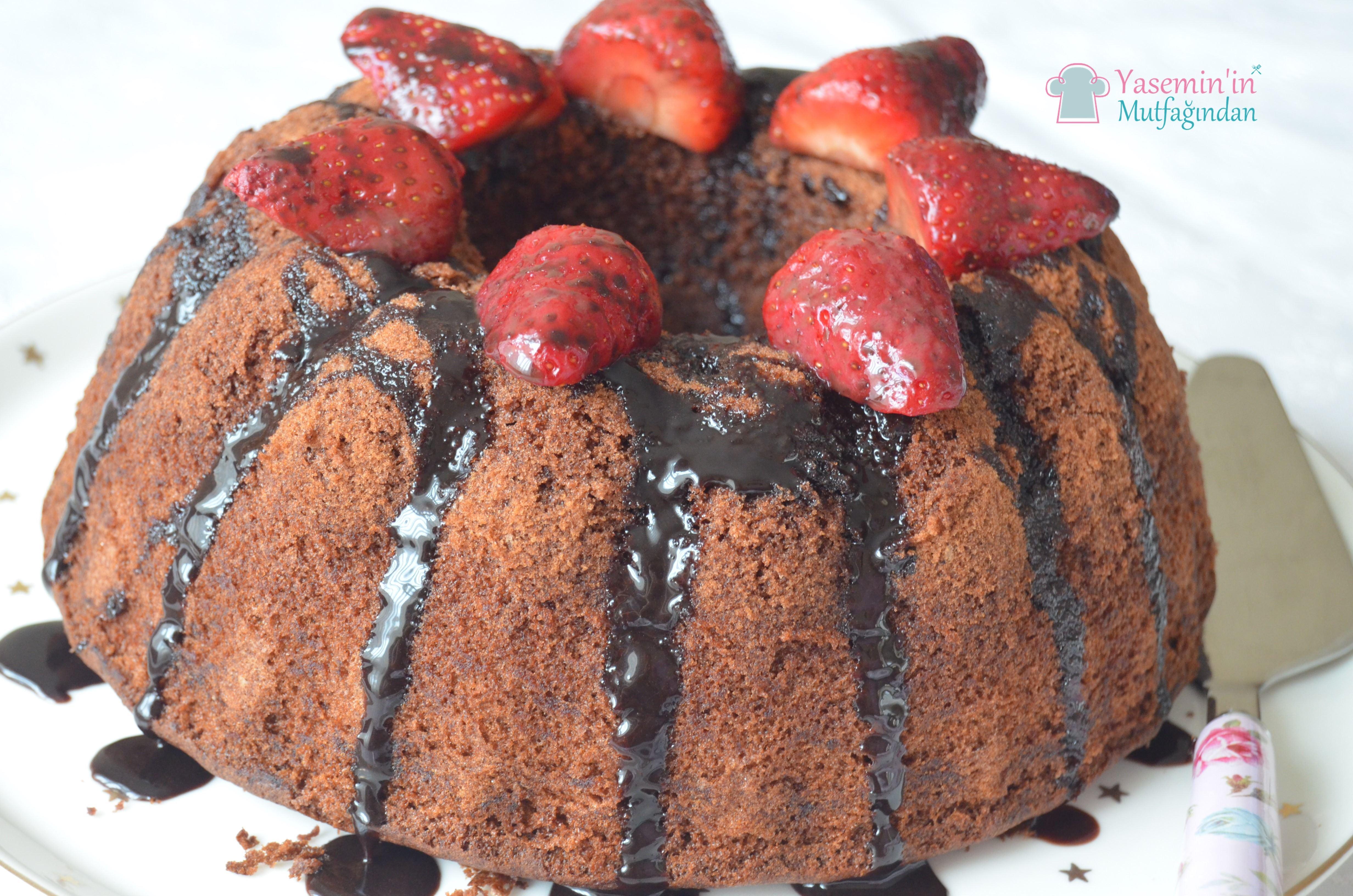 Kakaolu Nişastalı Kek